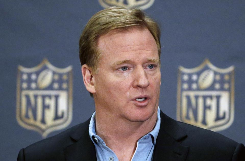 NFL commissioner Roger Goodell said on Tuesday that the league has not been keeping the PSI data it collected this season.