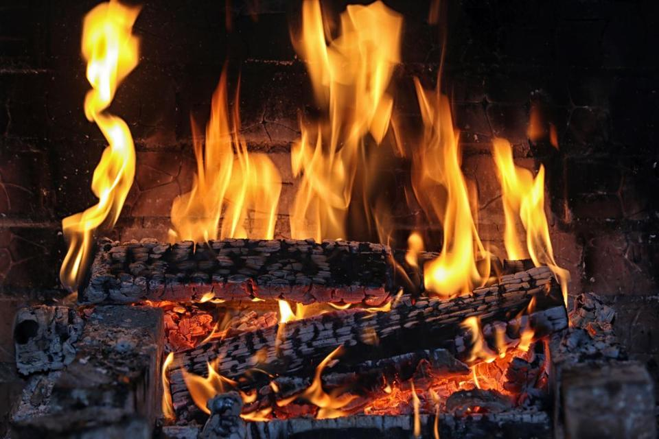 To know about building a fire . . . in the fireplace - The Boston ...