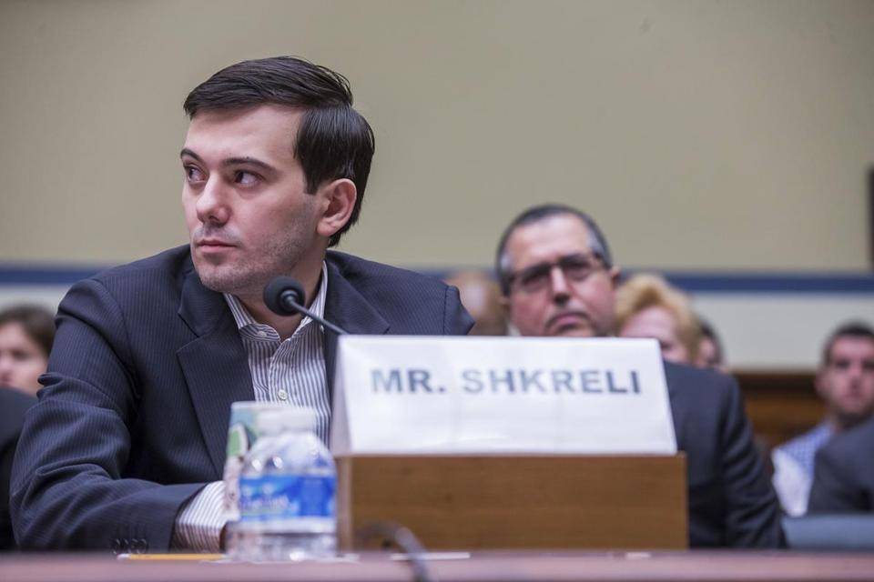 Martin Shkreli, the former chief executive of Turing Pharmaceuticals who is facing federal securities fraud charges, testified before a House committee on Thursday about the price of drugs.