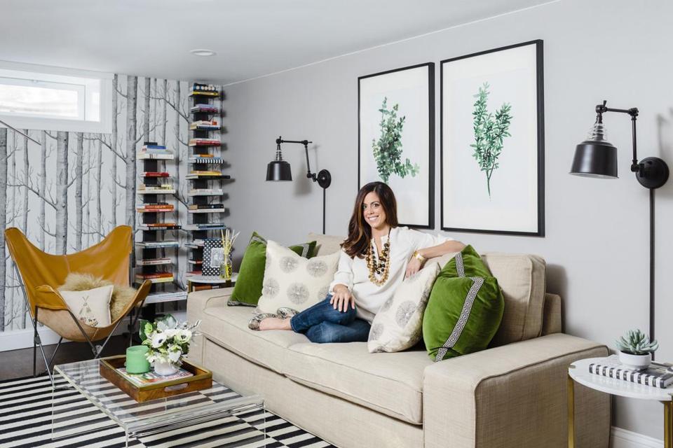 How To Design A Stylish Basement The Boston Globe