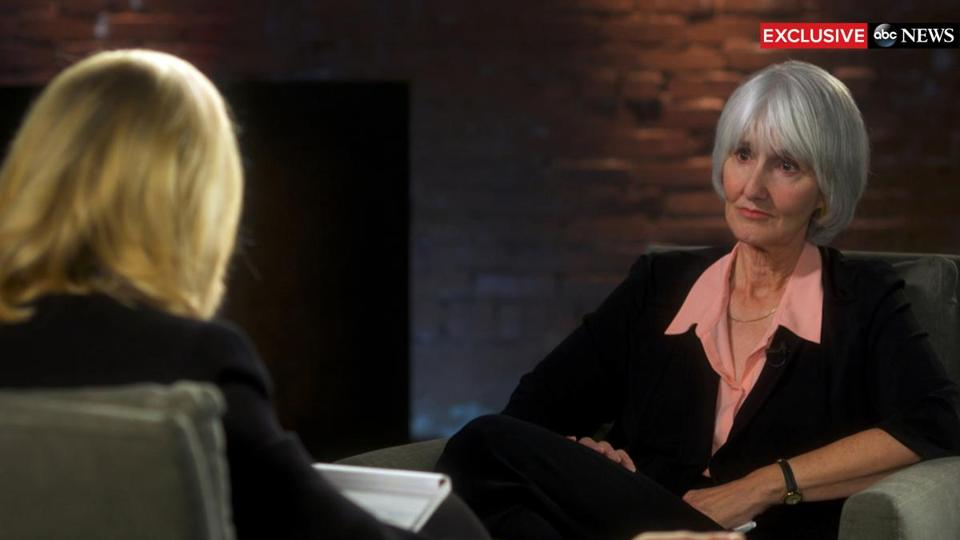 Sue Klebold (right) was recently interviewed by Diane Sawyer of ABC News about the memoir the mother of Columbine High School shooter Dylan Klebold has written.