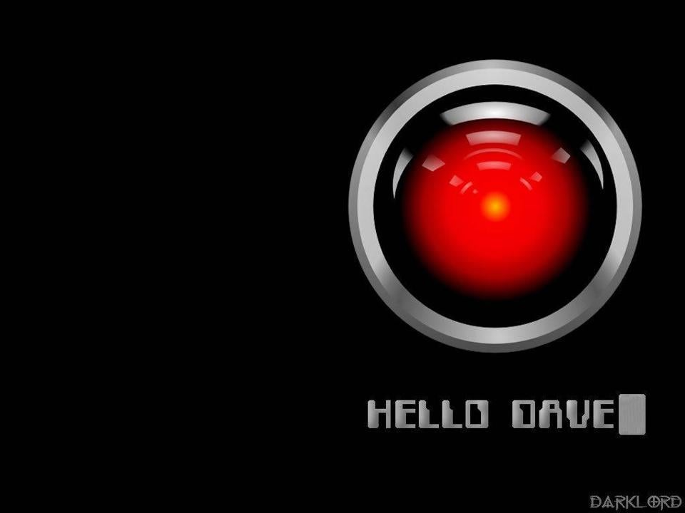 "HAL 9000 from ""2001: A Space Odyssey."""