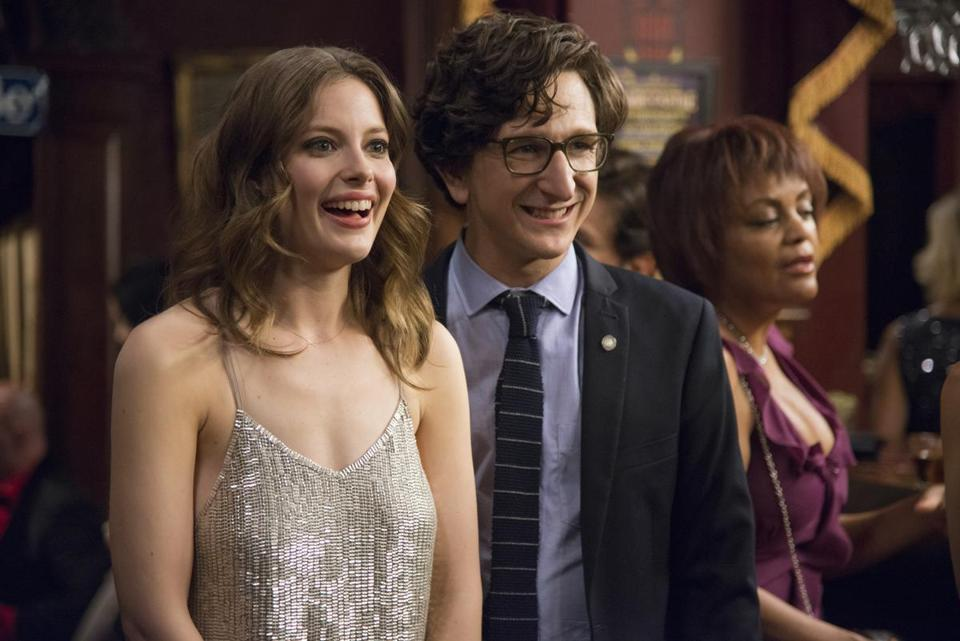 "Gillian Jacobs and Paul Rust in Netflix's ""Love."""