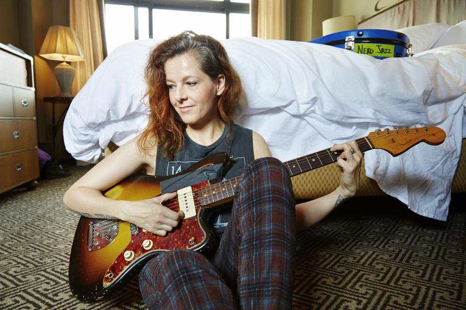 "This July 9, 2013 photo shows singer-songwriter Neko Case posing at a hotel in New York. Case's latest album, ""The Worse Things Get, the Harder I Fight, the Harder I Fight, the More I Love You,"" was released this week. (Photo by Dan Hallman/Invision/AP) 31wintermusicpicks 25weekpop"