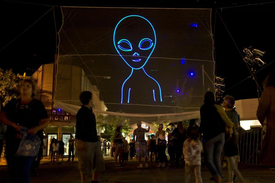 The Argentinian city of Cordoba held its Alien Festival on Feb. 13.