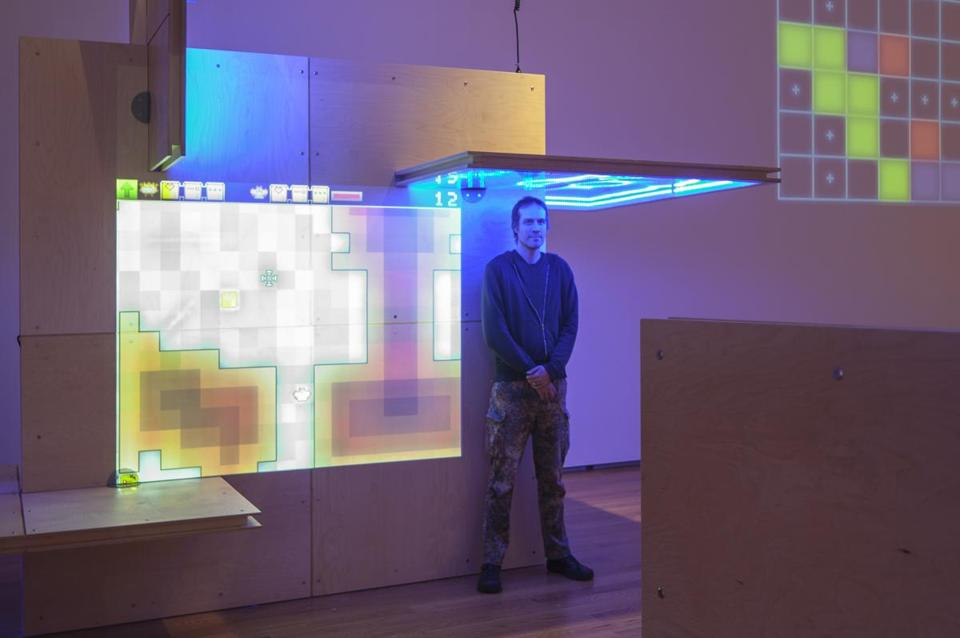 "Jason Rohrer transposes life's dilemmas into video games. His work is on view in ""The Game Worlds of Jason Rohrer"" at the Davis Museum at Wellesley College."