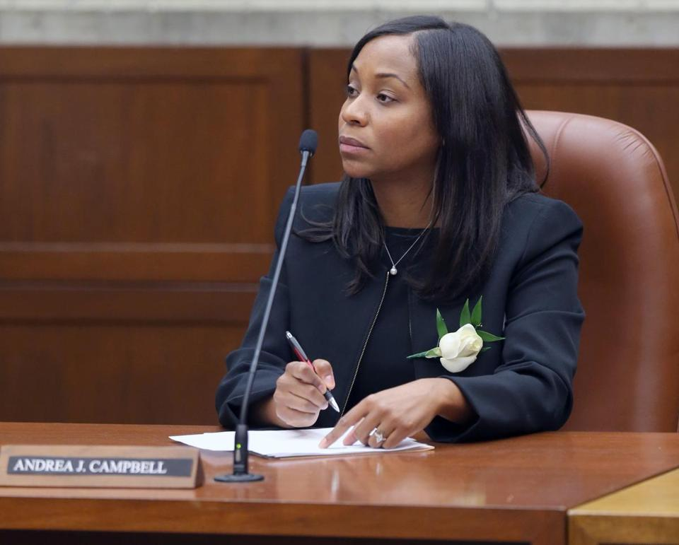 Boston city councilor Andrea Campbell.