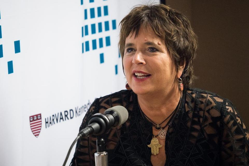 Tony Award-winning playwright and activist Eve Ensler, author of the Vagina Monologues, dismisses the line between artists and activists.