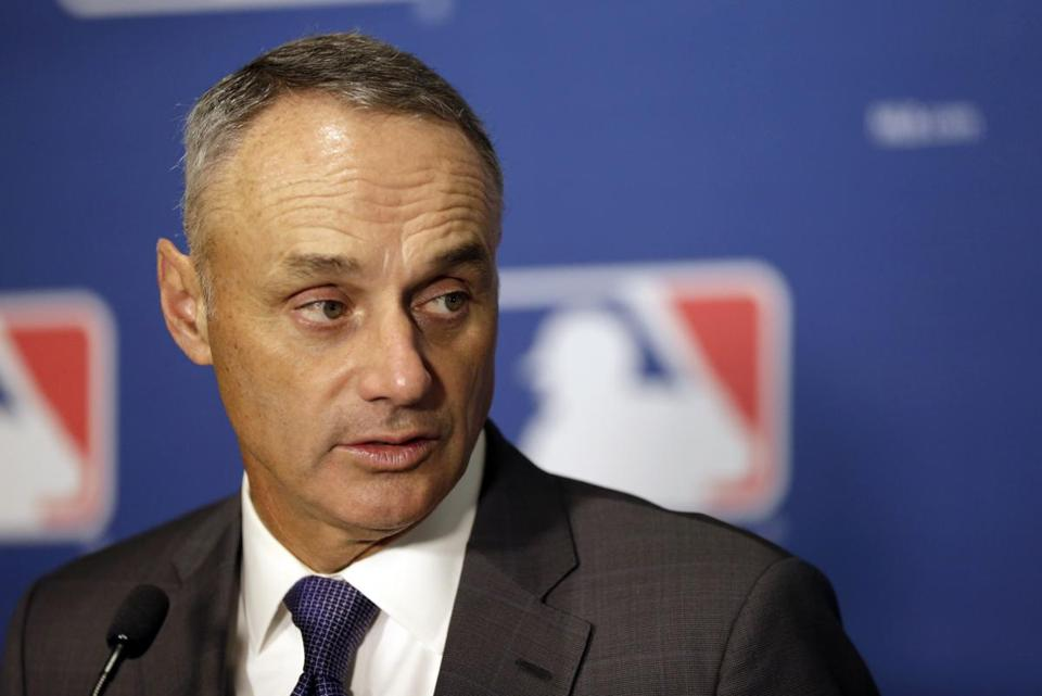 Rob Manfred is expected to rule on two of three domestic violence cases soon.