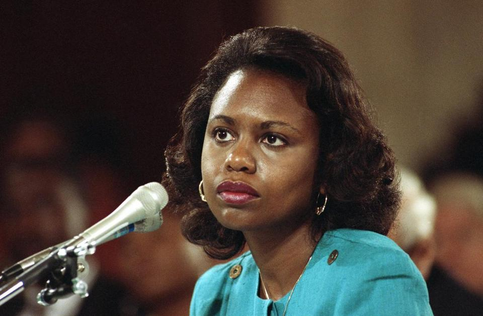 Anita Hil testified during the 1991 confirmation hearings.