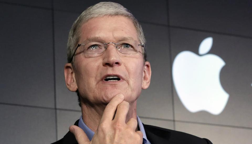 Apple CEO Tim Cook said the government's directive would create a dangerous precedent.