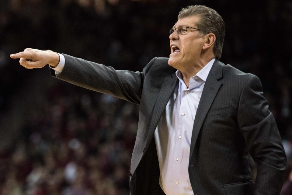 Coach Geno Auriemma is trying to make it six straight Olympic gold medals for the US in women's basketball.