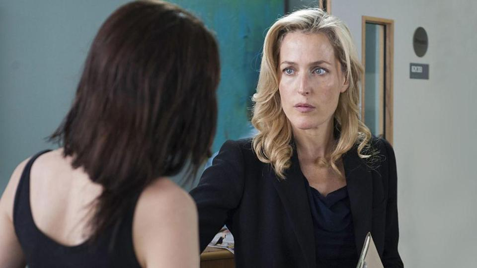 Gillian Anderson has left 'The X-Files' far behind