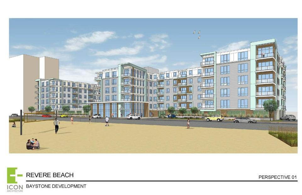 Baystone Development will build 234 luxury apartments on 2.2 acres on Revere Beach Boulevard.