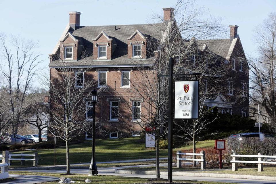 St. Paul's School made the request last week in federal court in New Hampshire.