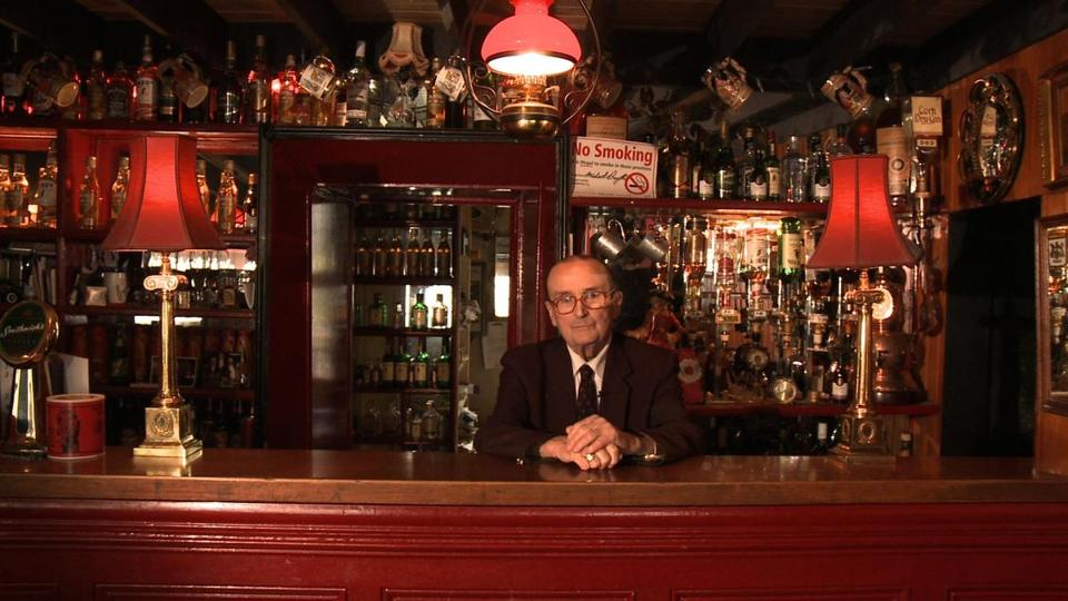 "Michael Smyth in the documentary ""The Irish Pub,"" directed by Alex Fegan."