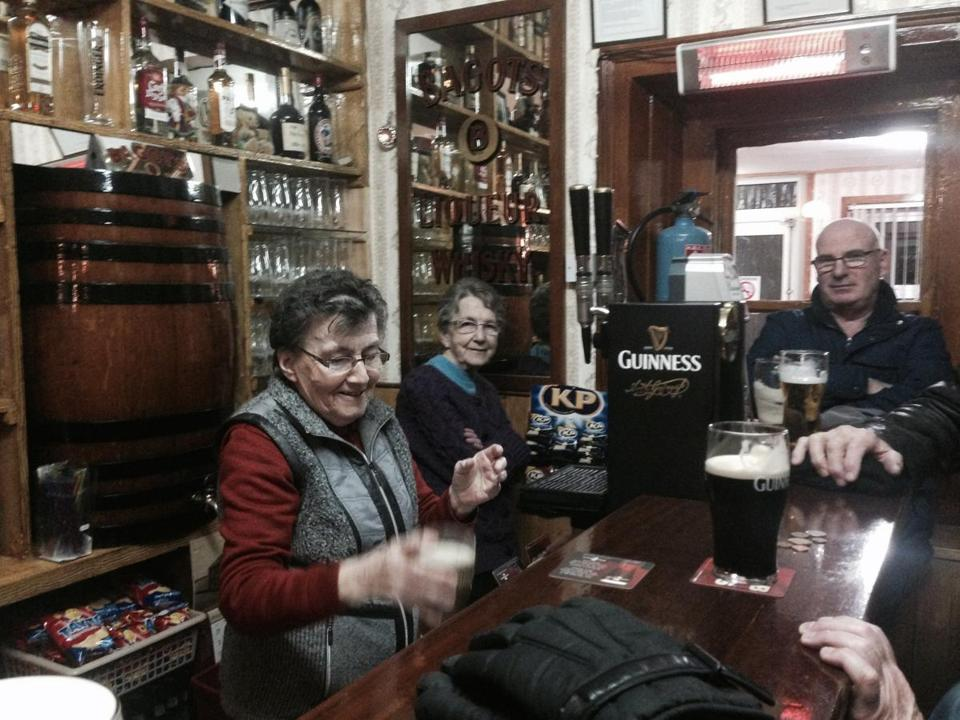 Brennan's Criterion Bar has been in Patricia and Nan's family since their grandparents opened it in 1900.