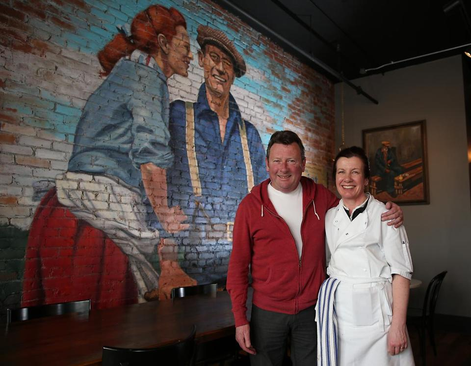 Diarmuid O'Neill and sister-in-law Denise O'Neill are two