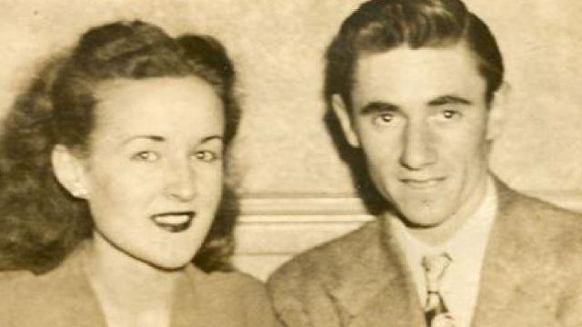 June and Bill Bratton were a couple for 65 years, marrying shortly after he served in the Navy during World War II.