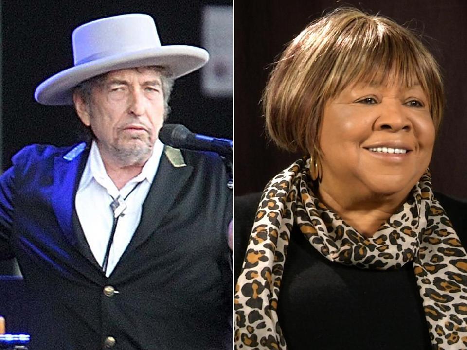 Bob Dylan and Mavis Staples Mavis Staples Bob Dylan