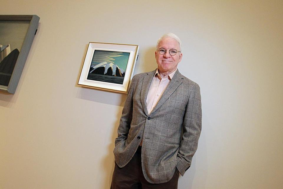 """Nobody knows him. Nobody,"" says Martin of Canadian painter Lawren Harris."
