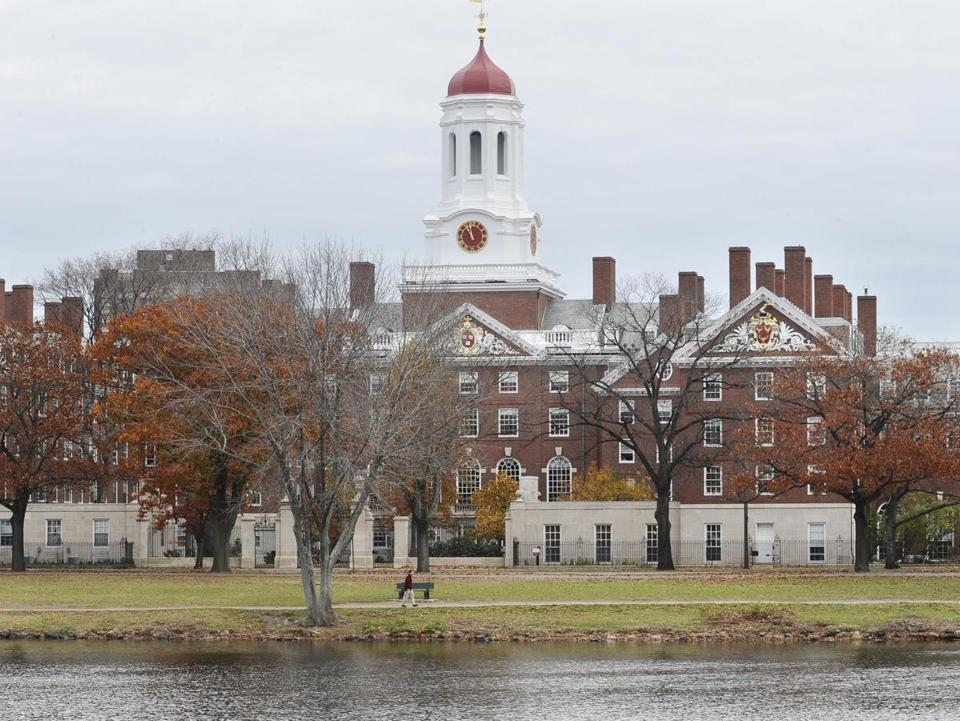 Harvard University in Cambridge.