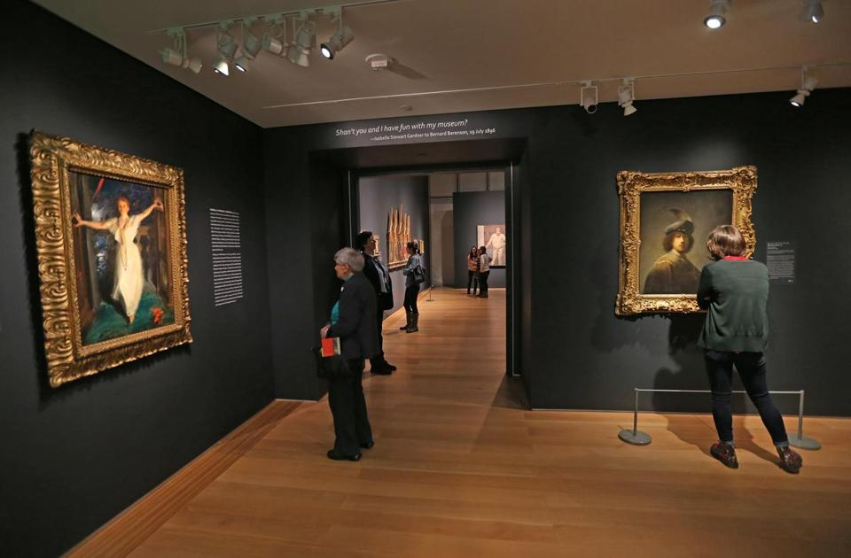 """Off The Wall: Gardner and Her Masterpieces"" is an unprecedented chance to see – up close and under excellent light conditions – 25 of the very finest things Isabella Stewart Gardner acquired."