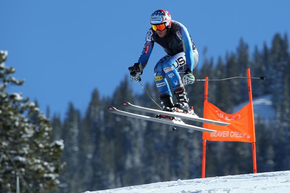 BEAVER CREEK, CO - DECEMBER 02: Bode Miller of the United States skis the course with a 3D point of view camera prior to downhill training for the Audi FIS Ski World Cup on the Birds of Prey on December 2, 2015 in Beaver Creek, Colorado. (Photo by Doug Pensinger/Getty Images)