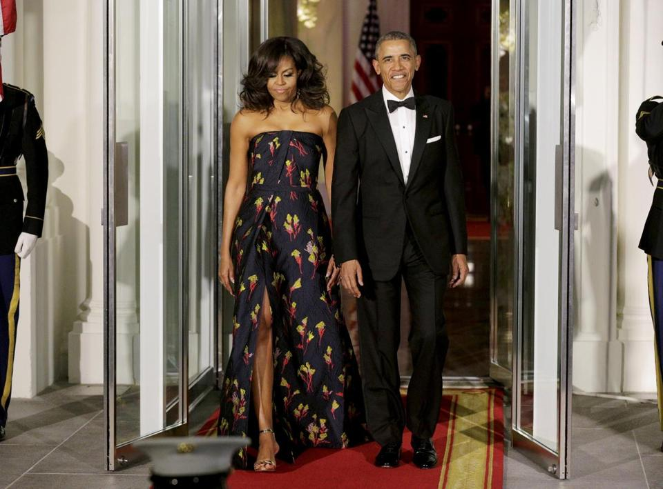 Michelle Obama Wears Jason Wu Gown For Canada State Dinner The