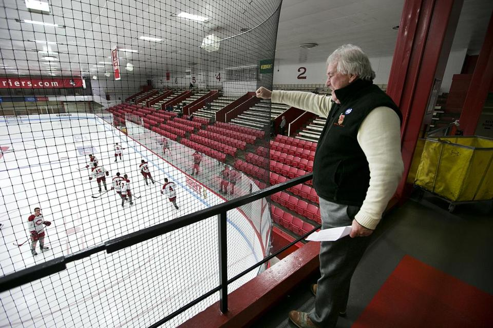 Bill Hanson will be honored on May 20 at BU's Agganis Arena.