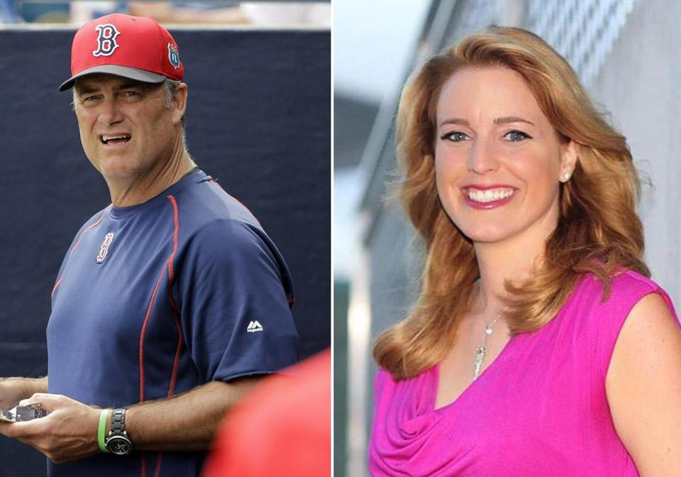 Jessica Moran resigned from CSNNE amid questions about her relationship with Red sox manager John Farrell.