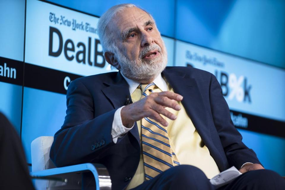 Investor Carl Icahn sees Xerox CEO Jeff Jacobson as resistant to change.