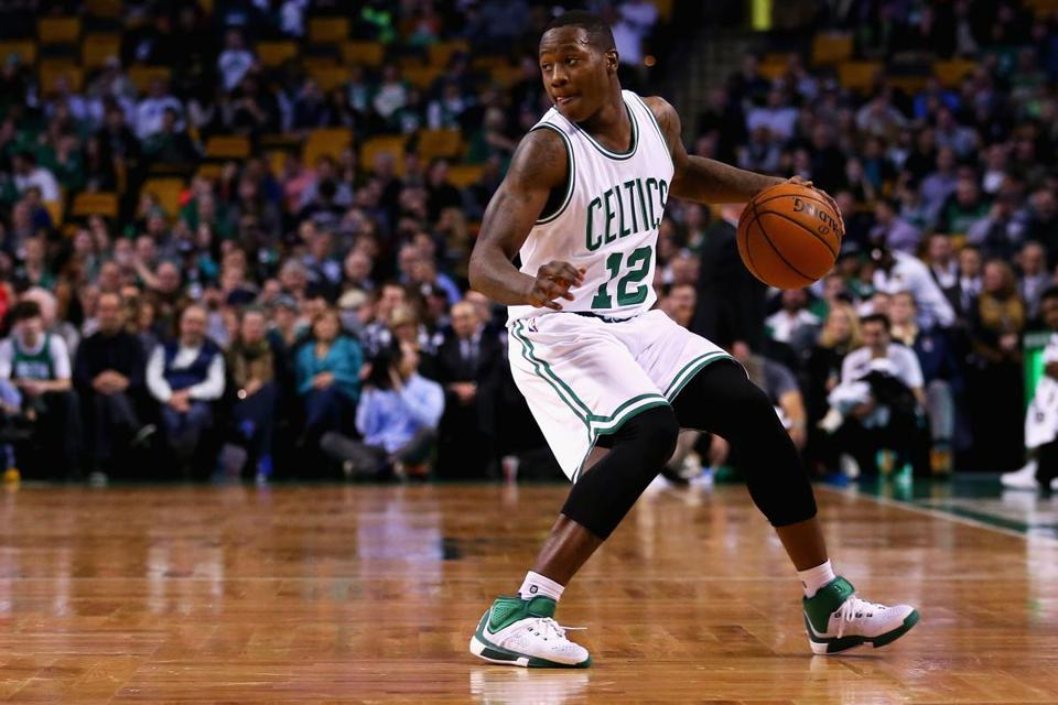 Terry Rozier says his ability to gobble up missed shots can be traced back to childhood, when he was one of the smaller players on the court.