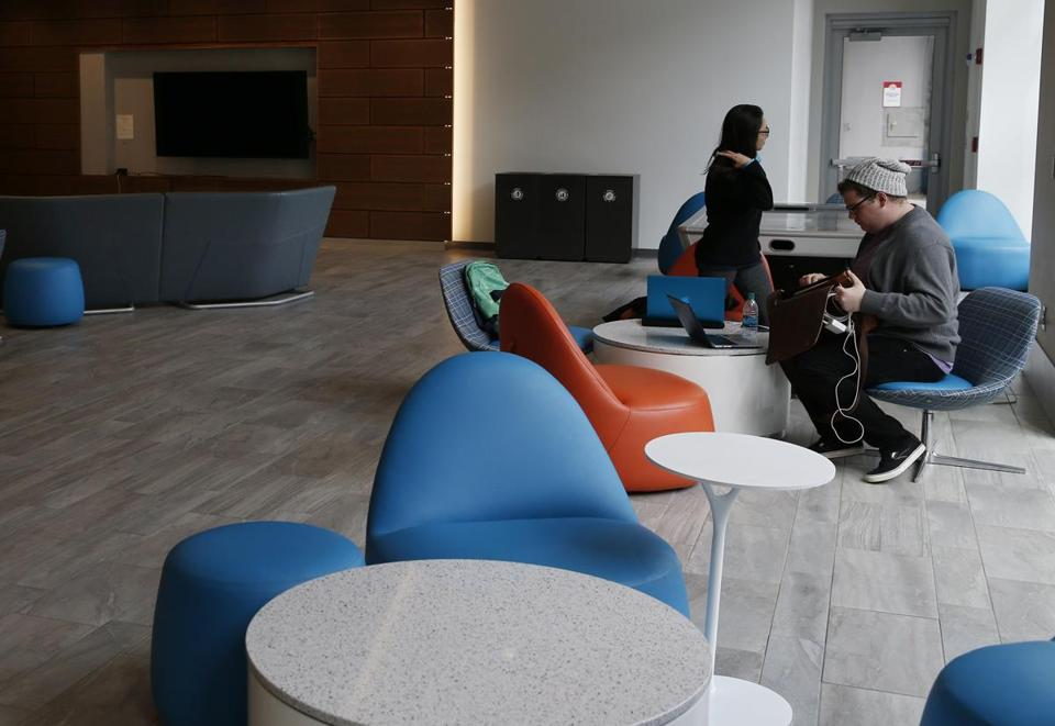Students Worked In Northeastern Universityu0027s East Village Student Lounge  Last Month. The East Village Was Part 85