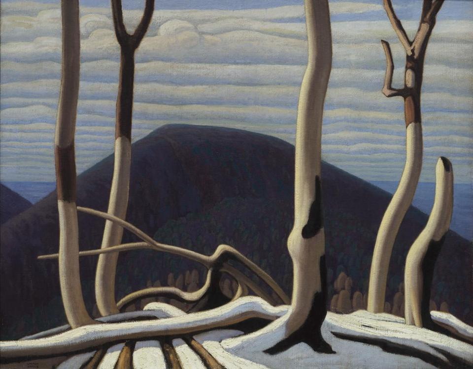 Above Lake Superior [in situ] Lawren Harris (Canadian, 1885�1970) about 1922 Oil on canvas *Art Gallery of Ontario, Gift from the Reuben and Kate Leonard Canadian Fund, 1929 *© Family of Lawren S. Harris *© Art Gallery of Ontario *Courtesy, Museum of Fine Arts, Boston