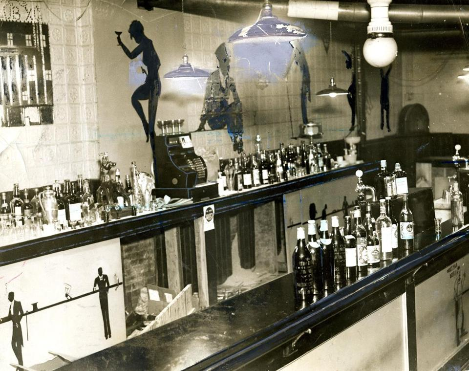 A speakeasy in North Station which was raided and shut down in the early '30s.