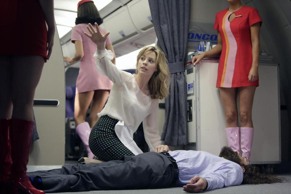 "Melissa George in NBC's medical drama ""Heartbeat."""