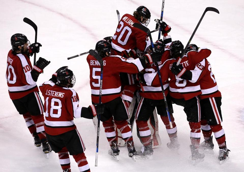 Image result for northeastern huskies hockey east