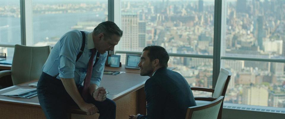 "Chris Cooper (left) and Jake Gyllenhaal in ""Demolition."""