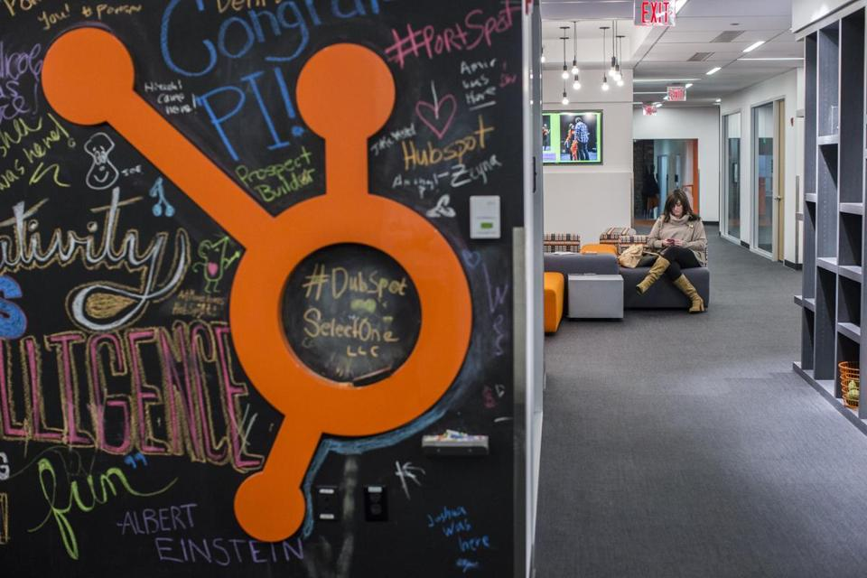 Employees worked in HubSpot's Cambridge office.