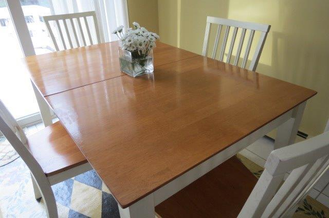 tips to make that stained rubberwood table bounce back the boston