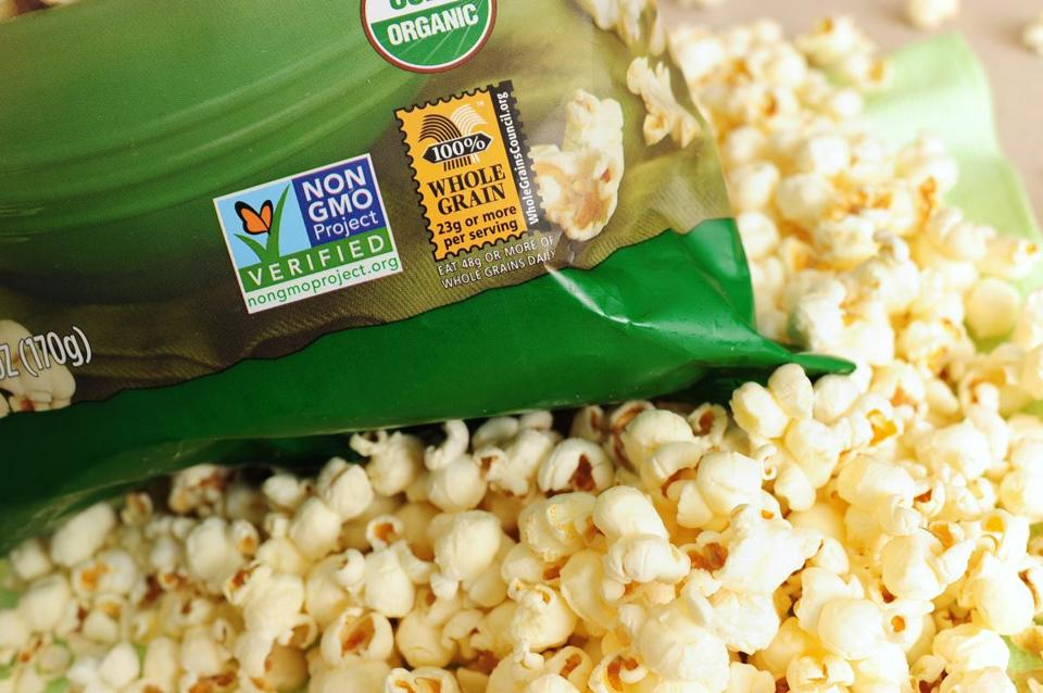 Gmo Labeling Laws Promote Fear Misinformation  The Boston Globe A Label On A Bag Of Popcorn Indicates It Is A Nongmo Food Product How To Make A Good Thesis Statement For An Essay also Good Synthesis Essay Topics  Professional Business Plan Writers Melbourne