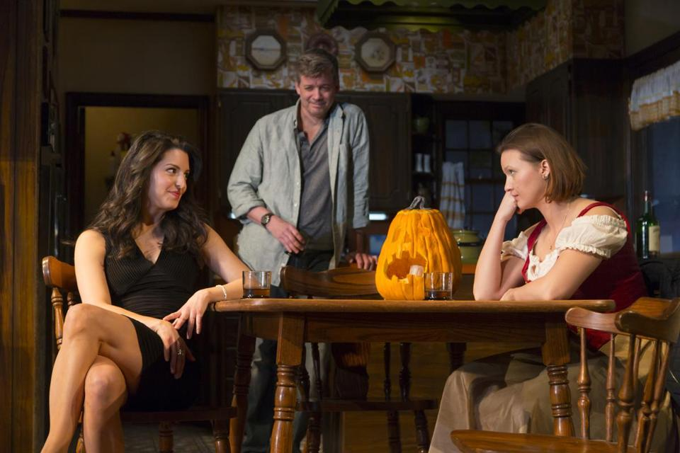 "Meredith Forlenza, Chris Henry Coffey, and Tanya Fischer in ""Can You Forgive Her?"""