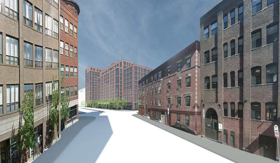 Related Beal Is Proposing To Build A 14 Story Residential Complex On  Harrison Ave.