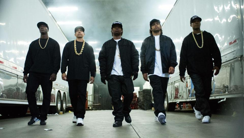 "Legendary Entertainment was one of the studios behind ""Straight Outta Compton."""