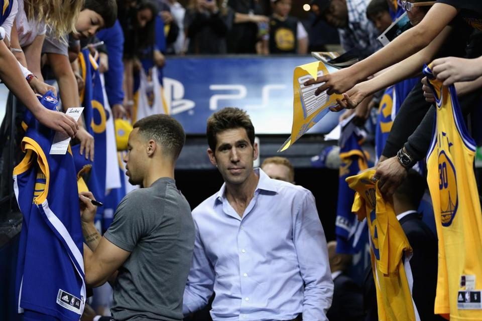 Bob Myers has been the Warriors' GM since 2012.