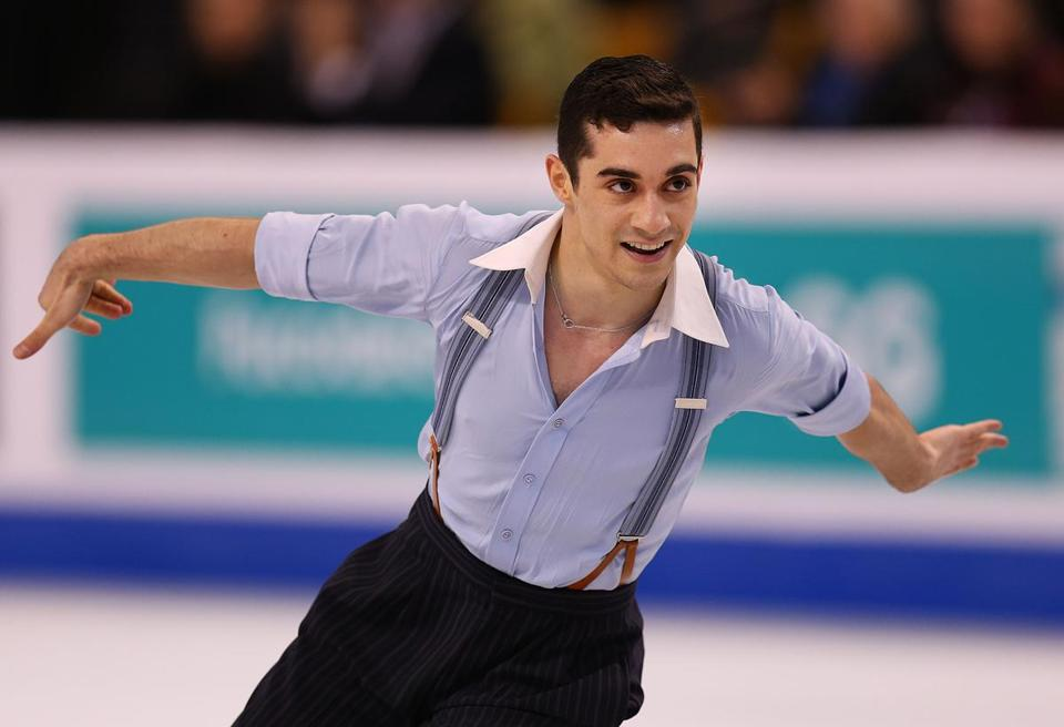 ... Union (ISU) World Figure Skating Championships at TD Garden in Boston