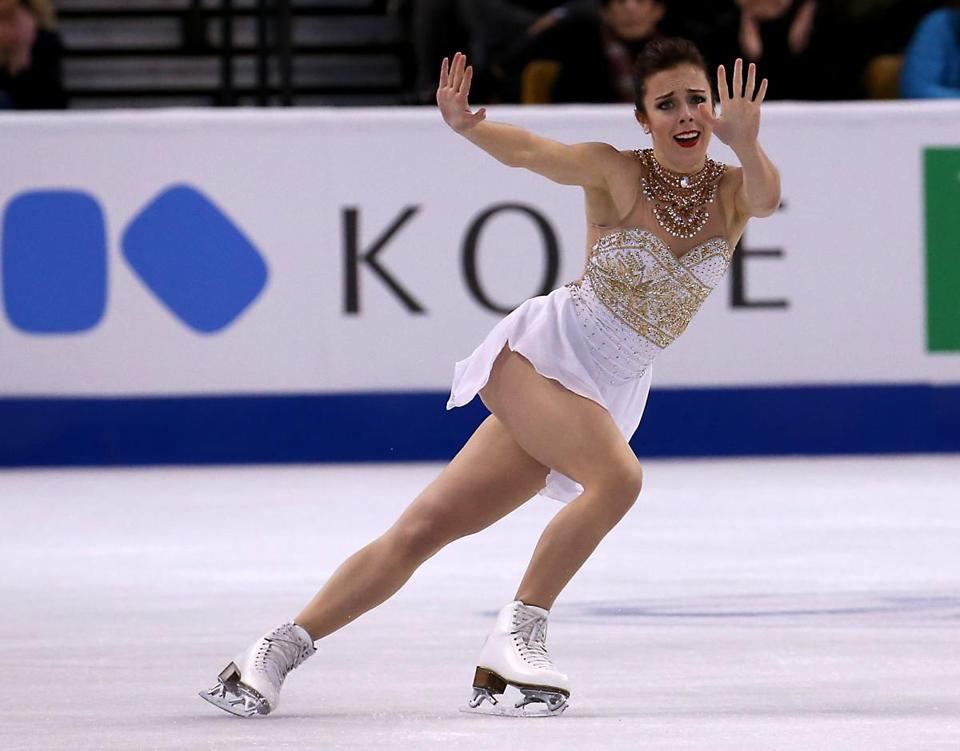 Olympian Ashley Wagner to headline First Night skating spectacular