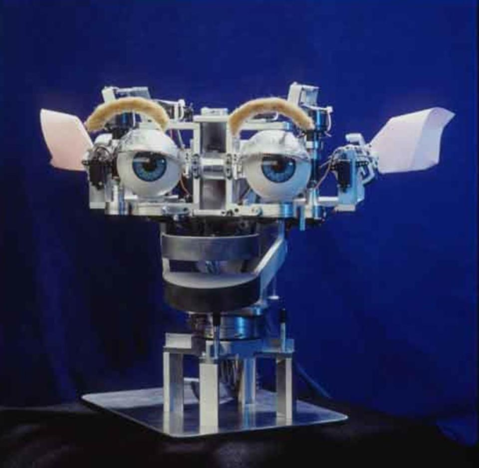 MIT toy robot Kismet note that Kismet creator Cynthia Breazeal will be speaking along with Sherry Turkle on April 29 atÊSoap BoxÊat 6:00 p.m. here at the Museum
