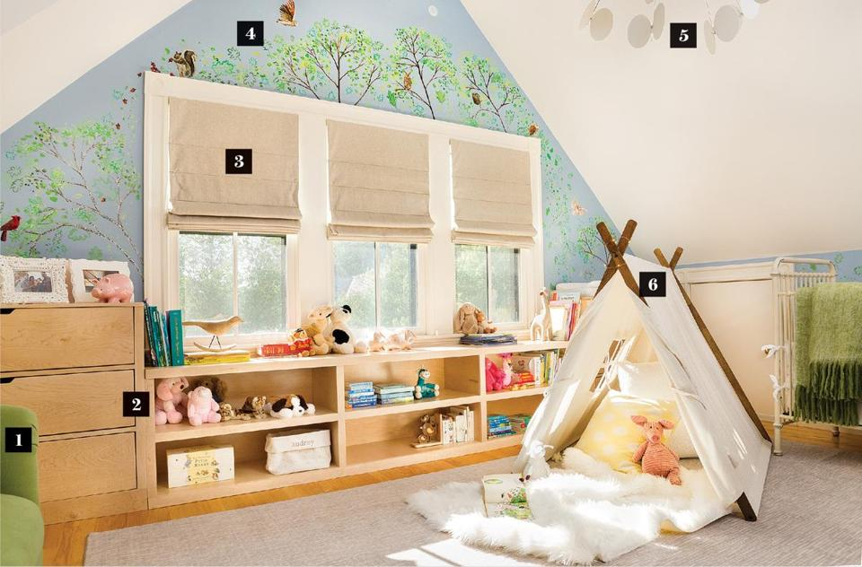 Creating A Treehouse Inspired Bedroom For Toddler